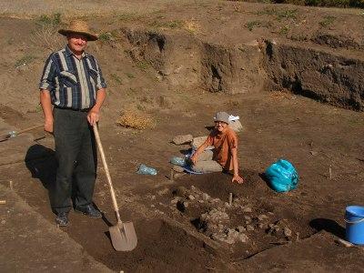 Scythian excavations Crimea