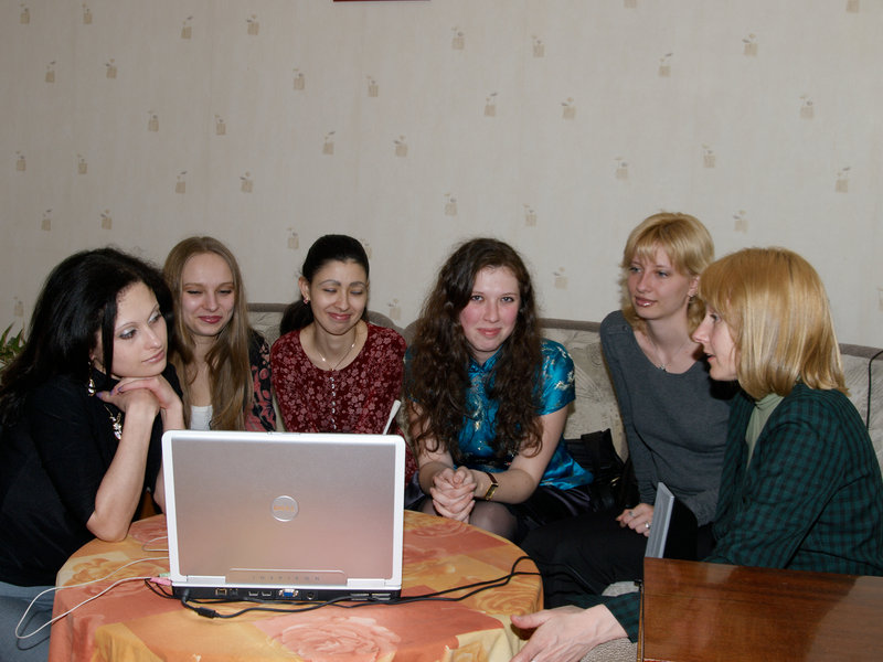 DU Network guides and associates in Ukraine