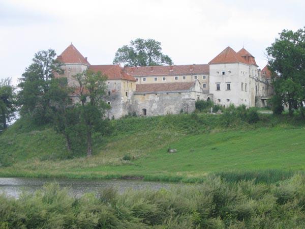 Wvirzh castle near Lviv