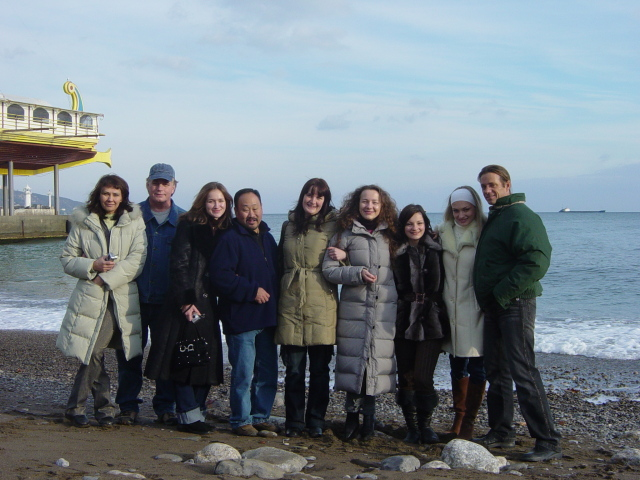 DU guides wotking with group tours in Ukraine