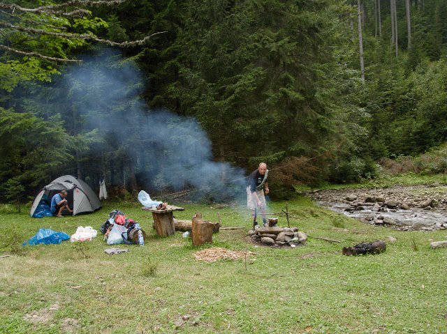 backpackers group trips in Crimea and Ukrainian Carpathians