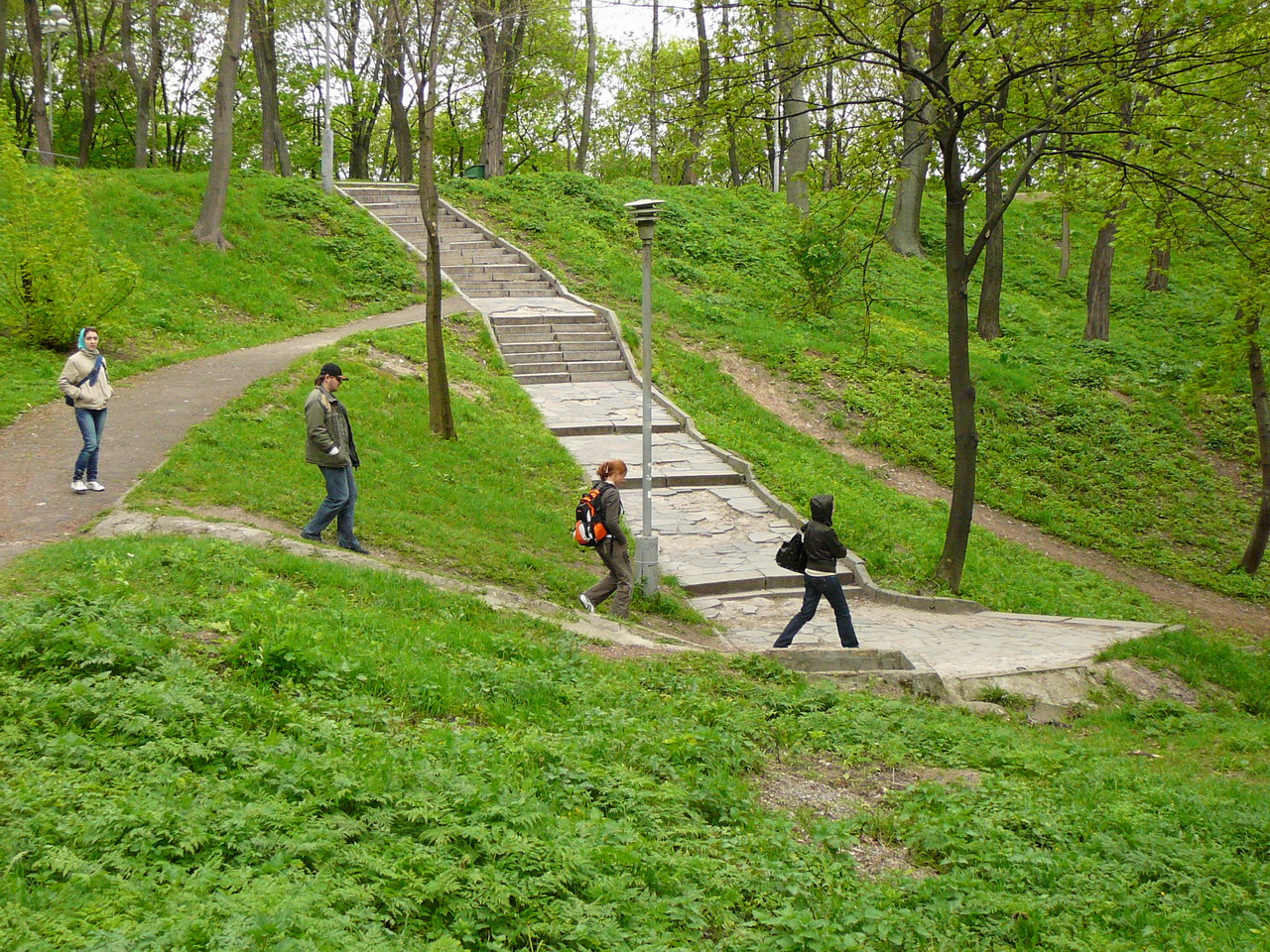 Open air trips in nature are popular among Ukrainians