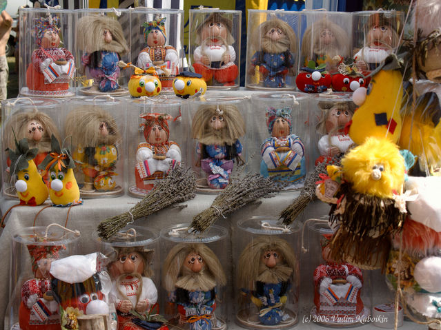 Ukraine national handmade crafts