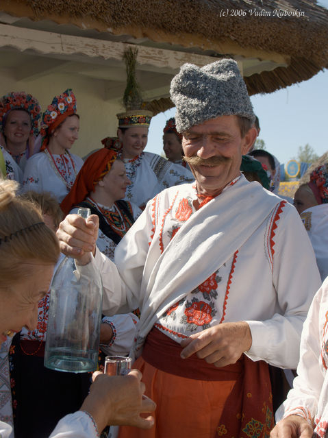 Ukraine's national drink - horilka is as popular as vodka for Russians